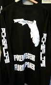 florida poker long sleeve t-shirt